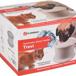 DRINK FOUNTAIN TREVI DOG&CAT WHI 3L