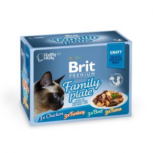 BRIT PREM CAT DF GRAVY FAMILY12X85G